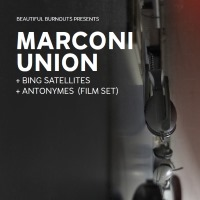 Marconi Union, Bing Satellites, Antonymes (Film Set) live in Leeds and Sheffield, June 2019
